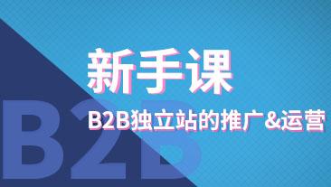B2B独立站的推广&运营